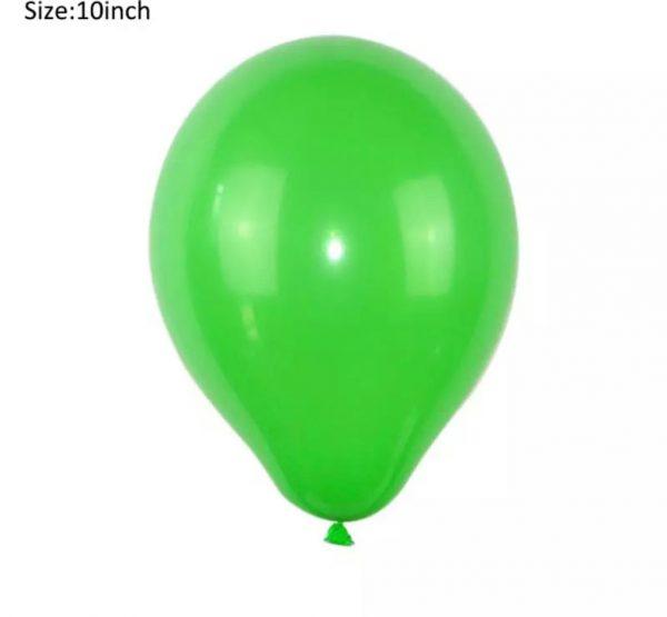 Ballonnen groen