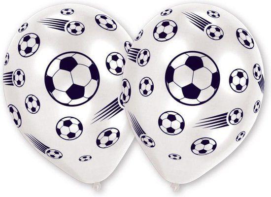 Ballonnen met voetbal