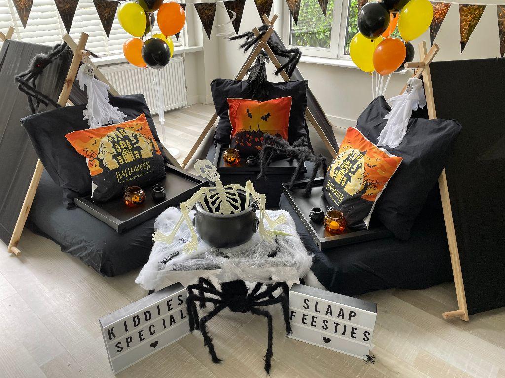 Halloween slaapfeestje