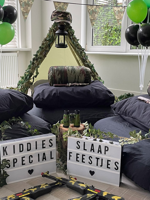 slaapfeestje-thema-special-forces